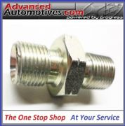 Oil Line Adaptor 1/8BSPT To 1/8BSP Cone End - Plated Steel